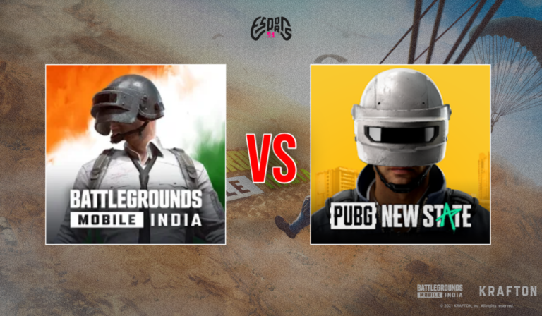 The Difference between Battlegrounds Mobile India and PUBG New State