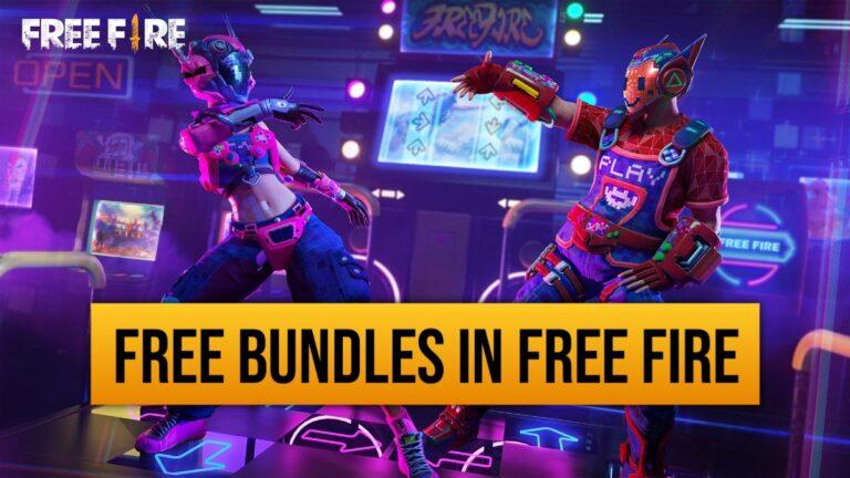 Top 5 ways to get free bundles in Free Fire.