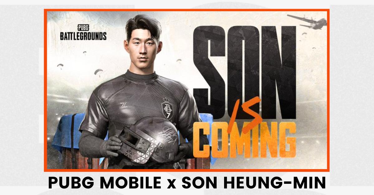 PUBG Mobile x Son Heung-Min