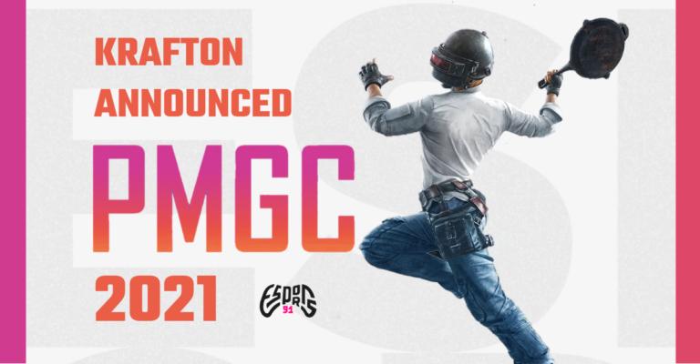 "Krafton announced ""PMGC"" PUBG Mobile Global Championship 2021."
