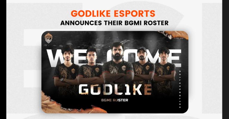 GodLike Esports Announces their BGMI Roster