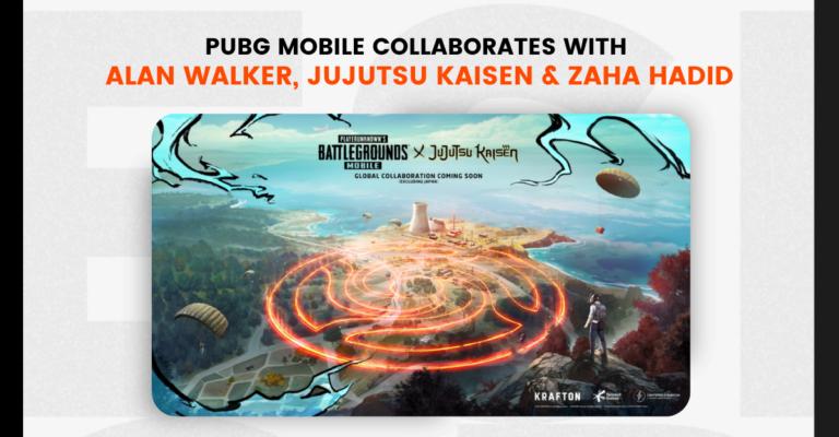 PUBG Mobile collaborates with Alan Walker, Jujutsu Kaisen and Zaha Hadid