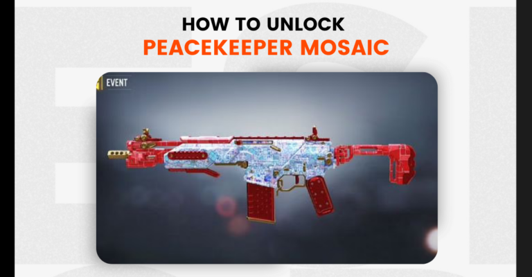 How to unlock Peacekeeper Mosaic in COD Mobile Season 6