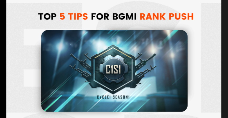 Top 5 tips for BGMI rank push