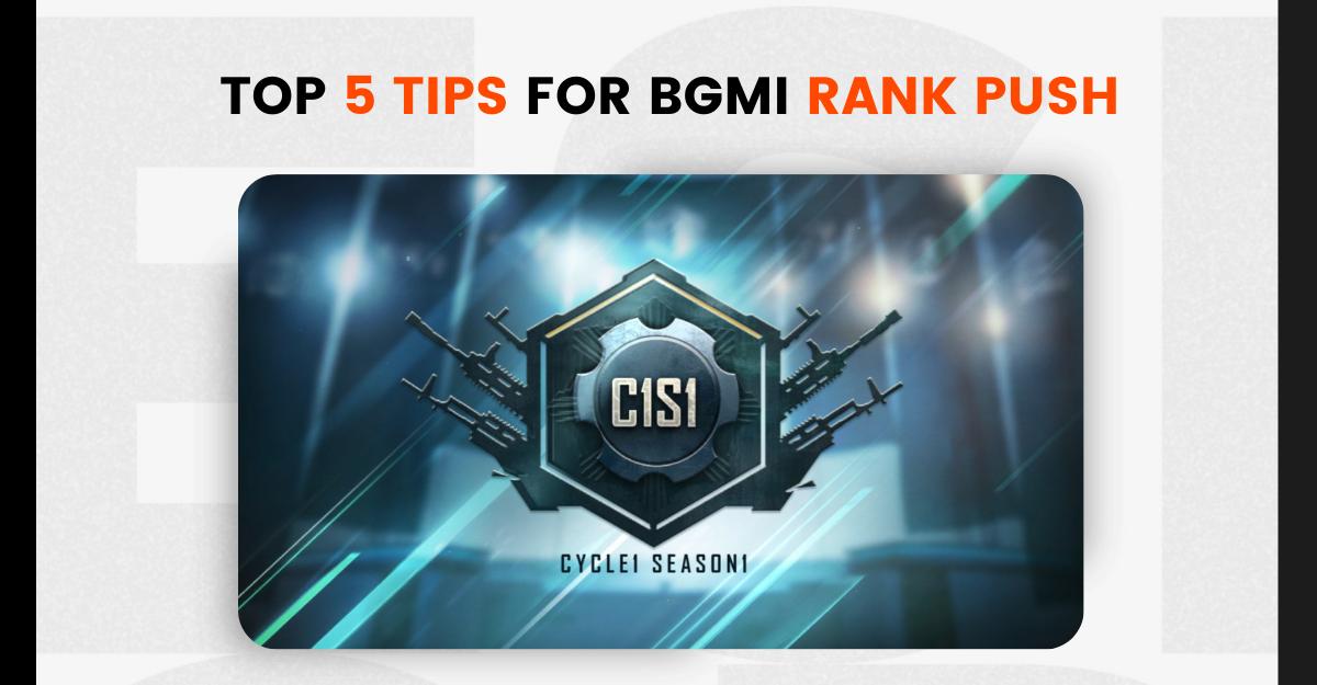 BGMI rank push