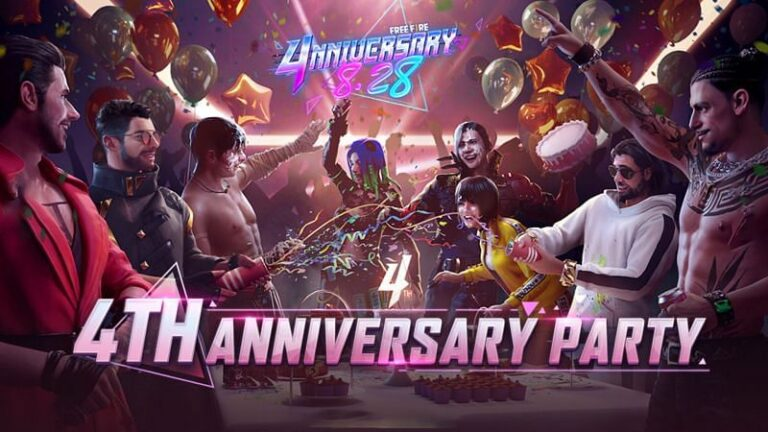 Free Fire fourth anniversary reduces character price by 60%