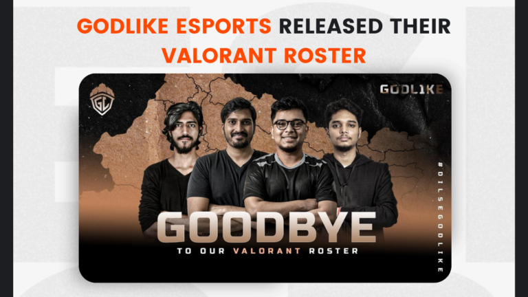 GodLike Esports released their Valorant roster, Deathmaker to join Velocity Gaming