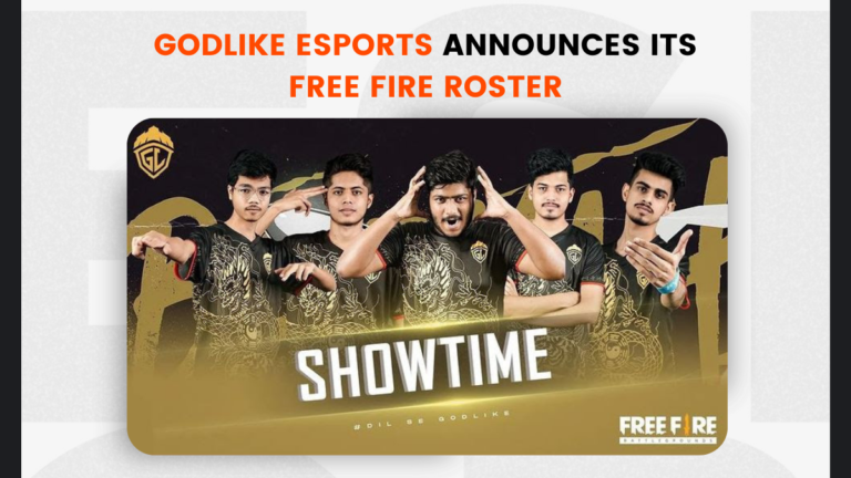 GodLike Esports Announces its Free Fire Roster