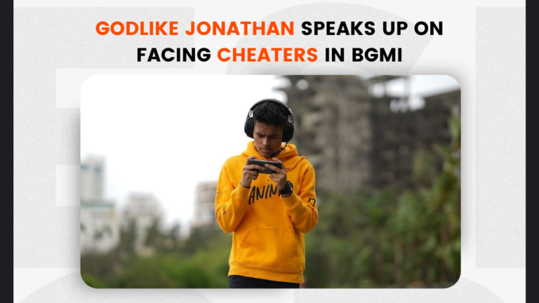 GodLike Jonathan Speaks Up on Facing Cheaters in BGMI