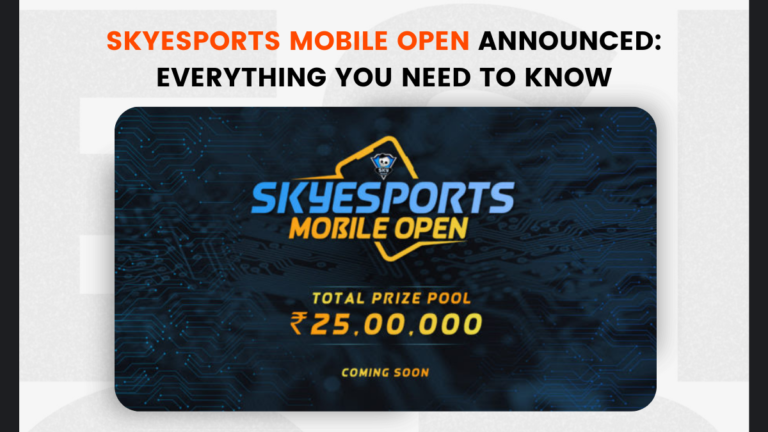 Skyesports Mobile Open Announced: Everything You Need to Know