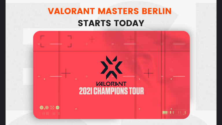 Valorant Masters Berlin Starts Today; here's Everything You Need To Know