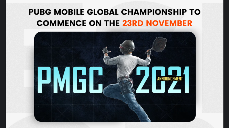 PUBG Mobile Global Championship to commence on the 23rd Nov