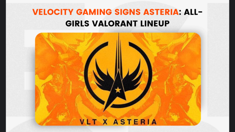 Velocity Gaming Signs Asteria: All-Girls Valorant Lineup