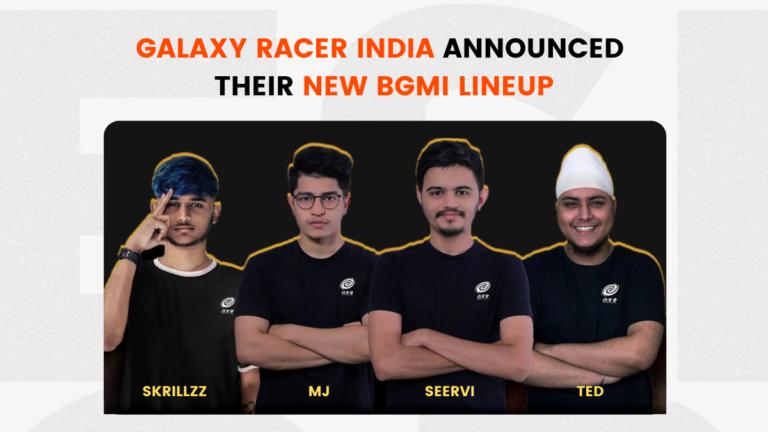 Galaxy Racer India Announced their new BGMI Lineup
